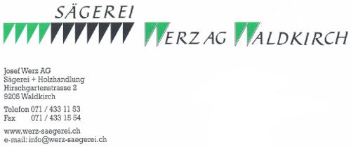 Sägerei Werz AG