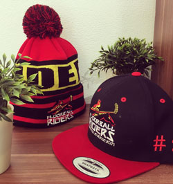 Riders Beanie NHL / Riders Snapback Bikered