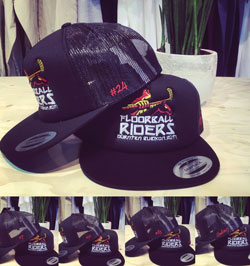 Riders Trucker Black