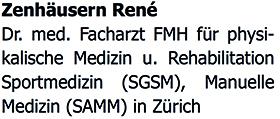 Dr. med. René Zenhäusern